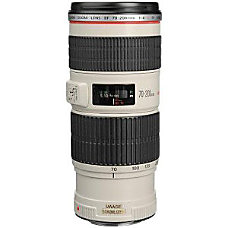 Canon EF 70 200mm f4L IS