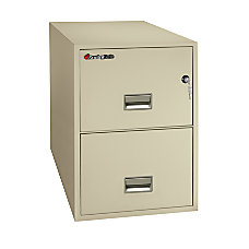 SentrySafe FIRE SAFE 2 Drawer Vertical