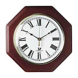 Chicago Lighthouse Octagon Wall Clock 12