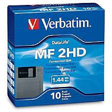 Verbatim DataLife 87410 144MB Floppy Disk