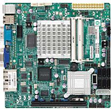 Supermicro X7SPA HF D525 Desktop Motherboard