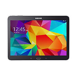 "Samsung Galaxy Tab® 4 Tablet With 10.1"" Screen, 16GB Storage, Black"
