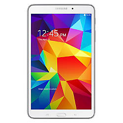 "Samsung Galaxy Tab® 4 Tablet With 8"" Screen, 16GB Storage, White"