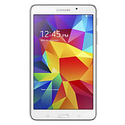 "Samsung Galaxy Tab® 4 Tablet With 7.0"" Screen, 8GB Storage, White"