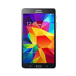 """Samsung Galaxy Tab® 4 Tablet With 7.0"""" Screen, 8GB Storage, Black"""