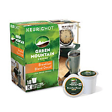 Green Mountain Coffee Pods Breakfast Blend