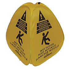 Continental Electric Wet Floor Safety Sign