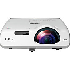 Epson PowerLite 520 LCD Projector 720p