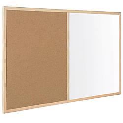 MasterVision Combination CorkDry Erase Board 24