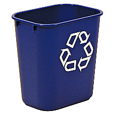 Rubbermaid Deskside We Recycle Container 3