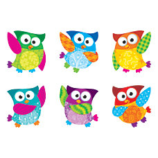 TREND Mini Accents Variety Pack Owl