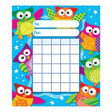 TREND Incentive Pad Owl Stars 5