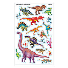 TREND SuperShapes Stickers Dinosaurs Large Assorted