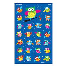 TREND SuperShapes Stickers Owl Stars Large