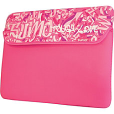 SUMO Graffiti iPad Sleeve Pink