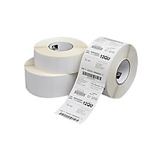Zebra Label Paper 225x075in Direct Thermal
