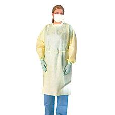 Medline Polypropylene Fluid Resistant Isolation Gowns