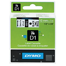DYMO D1 45013 Black On White