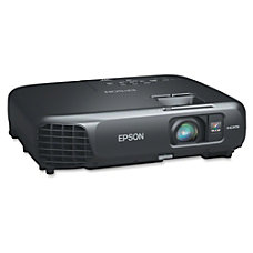 Epson PowerLite V11H551120 LCD Projector 720p