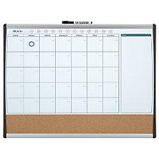 Quartet Magnetic Combination Calendar Board Steel