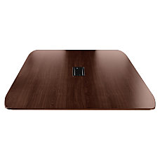 Lorell Rectangular Conference Tabletop With Wire