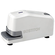 Stanley Bostitch Electric Desktop Stapler White
