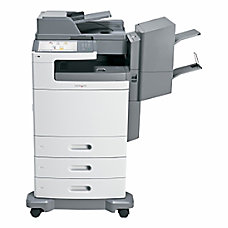 Lexmark X792DTPE Color Laser Printer