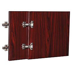 Lorell Essentials Mahogany Wall Hutch Door