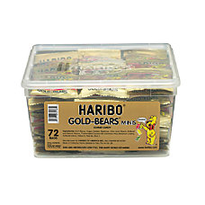 Haribo Gold Gummi Bears 110 Oz