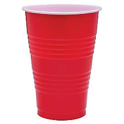 Genuine Joe Plastic Party Cups 16