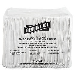Genuine Joe 2 Ply Luncheon Napkins