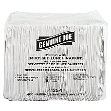 Genuine Joe 2 Ply Lunch Napkins