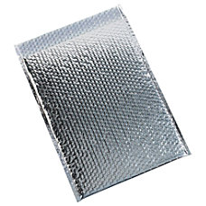 Partners Brand Silver Glamour Bubble Mailers