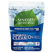 Seventh Generation Automatic Dishwashing Detergent Concentrated