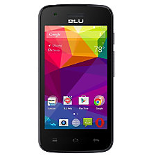 BLU Dash J Cell Phone Black