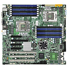 Supermicro X8DAE Workstation Motherboard Intel 5520