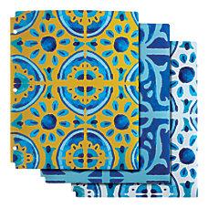 Divoga 2 Pocket Paper Folders Mediterranean