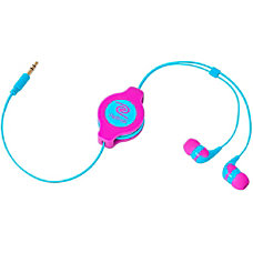 ReTrak Retractable Neon Pink and Blue