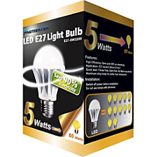 Premiertek LED E 27 Light Bulb