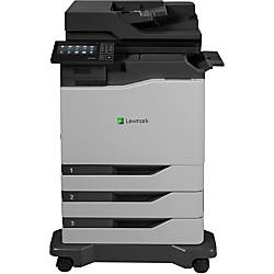 Lexmark CX820dtfe Laser Multifunction Printer Color
