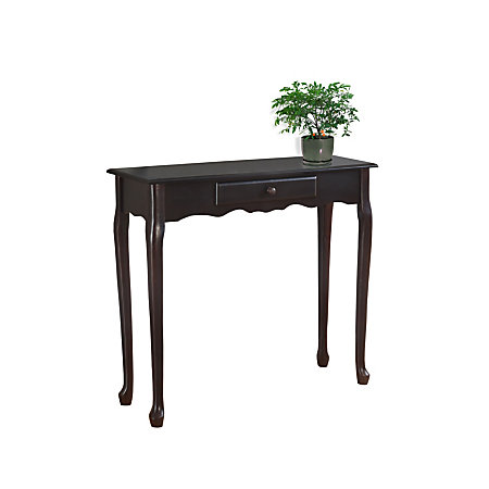 monarch specialties console table 32 h x 36 w x 12 d dark