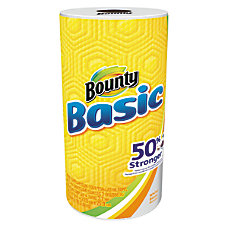 Bounty Basic Paper Towels White 44
