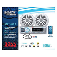 BOSS AUDIO MCK1306W6 Marine Package Includes