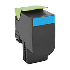 Lexmark 701C Return Program Cyan Toner