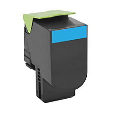 Lexmark 801C Return Program Cyan Toner