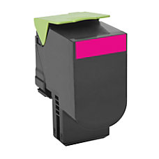Lexmark 801M Return Program Magenta Toner
