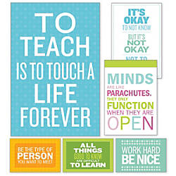 Scholastic Teachers Friend Inspirational Quotes Poster