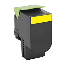 Lexmark 801Y Return Program Yellow Toner
