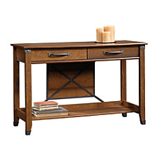 Sauder Carson Forge Sofa Table Rectangle