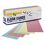 Pacon Blank Flash Cards 3 x